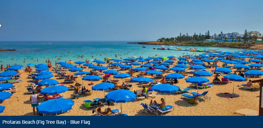 Protaras Beach (Fig Tree Bay) - Blue Flag