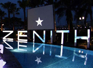 ZENITH Collection launch Helicopter Landing VIP Event